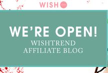 Affiliate program by Wishtrend / by WISHTREND