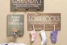 Laundry room / by Jennifer Brower Horner