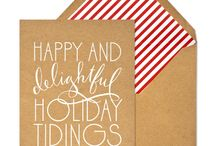 Christmas - Cards and Sentiments / by Rachel Wormhoudt-Butler