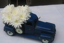 Car centerpieces / by Martha
