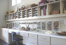 Studio Setup / by Molten Wrx, Beads of Glass
