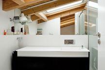 *** salle-de-bain dans les combles *** / by Karine Vaté