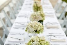 Wedding table decor France  / by Camille Vilches