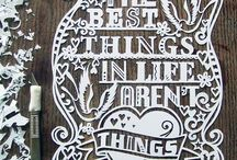 paper cutting / by Amber Lovelace