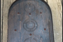 Gameroom / Antique and vintage games ...many of which I decorate our gameroom. / by Wild Gourd