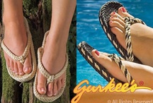 Gurkee's Tobago / Tobago style of Gurkee's rope sandals for men and women / by Gurkee's Rope Sandals