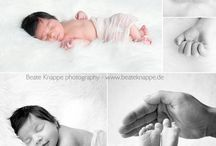 Newborn Collage / I love newborn, photography and Collage / by Beate Knappe Photography