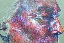 art - oil pastel / by Yelena Shabrova