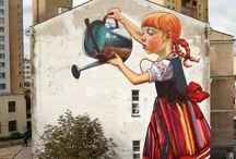 Street Art / Street Art, 3d Street Art, Mural, Wall Paintings, / by make simple designs
