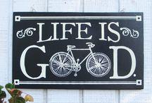 Cycling Inspiration / by Tina Hanus