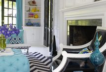 DYNAMIC DESIGN / ROOMS THAT RING MY BELL! / by Lisa Mende Design = Interior Design