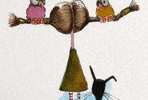 illustrations / by Zuleikha Aburisha