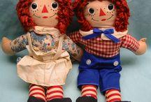 Raggedy Ann/Andy / by Gloria Doody