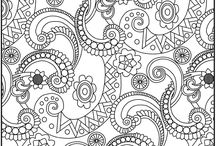 coloring pages / by Jessica McAuliffe