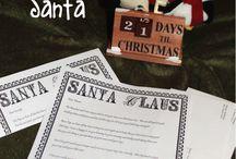 Santa letters / by Deborah George