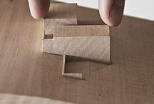 tiny architectural models / by Katie Hagar