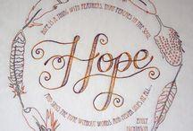 HOPE / by Patricia Morris Donegan