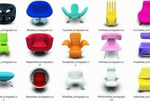 *Funky Style* Modern Furniture for the Home / Bringing life and color to the home or space! / by Brittany Nero