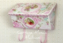 Shabby Cottage Chic / by Lois McGeoghegan