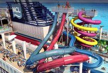 Norwegian Breakaway / Nuova ammiraglia della NCL Cruise Line. http://www.passionecrociere.com/search?q=norwegian+breakaway  / by Passione Crociere