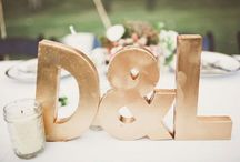 WEDDING COLORS: PINK, GOLD / Pink and gold wedding inspiration / by Emmaline Bride | Handmade Wedding Blog