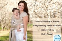 Babywearing Photo Contest / Share your pics in Mothering's Annual Babywearing Photo Contest! / by Mothering