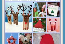 Christmas crafts / by Nicole Newton