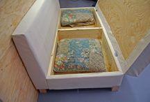 DIY Couch ideas / by Kristy Tillman