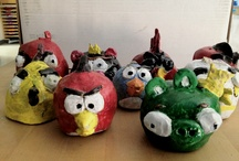 ArtEd- Angry Birds / by Donna Staten