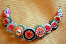 Jewelry: Crafty Jewelry Projects / These are crafts that are jewelry elements, or result in a piece you can wear. / by Jill Duncan-Jack
