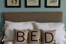 Bedrooms / by Krista Wilbur