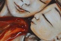Katie M Berggren / Mother & Child Artworks / by Adriana Zuniga