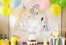 Birthday Monsters Party by Sandra Boynton / by chicaandjo