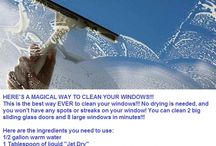 Cleaning tips / by Netty Dyck