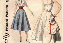 Vintage patterns / by Little Field Birch