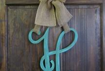 DIY-Wreaths/Door Decor / by Charity Lewis-Vocker