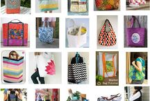 Bags, Baskets, Buckets & Bins / Handmade items to put stuff in. / by Mary Ihla