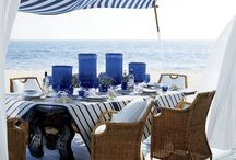 Blue and White Decor for the Home / by Roni Holmes