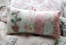 pretty pincushions / by Mary Kathryn