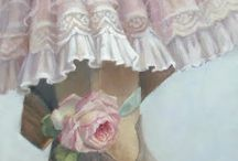 Painted Lace Inspiration / by Patricia Rawlinson