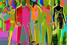 POP CULTURE IS NEVER GONE / POP ART INSPIRED / by Beli D.
