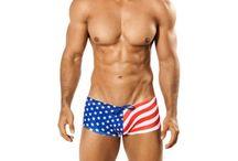 Mensuas Flag Swimwear / by Mensuas - Men Underwear and Swimwear Online Store