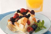 Brunch Recipes / Lovely recipes for a simply delightful second breakfast. / by Mandy Steinhardt