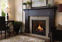 fireplace ideas / by Tina Almario