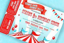 PROJECT: Red & Teal Circus / by Dani Ploscik