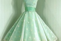 Vintage dresses / by Cheryl Wisenbaker