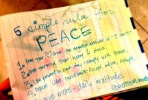 Where's Your Peace? / Everyone deserves peace and contentment in their lives. These questionnaires and checklists will help you create space and plant peace!  www.ideservepeace.com / by Shelley Rubalcava