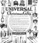 Universal Appliances / Magazine Advertisements featuring Universal Appliances! Enjoy these vintage ads! And remember to visit www.magazine-advertisements.com to view, download, or print the Full-Size image! / by Advertisement Gallery