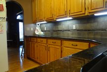Our Backsplashes / by Giesken's Cabinetry & Floor Covering