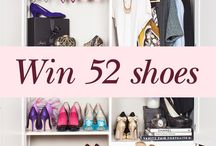 WIN 52 shoes! / Your chance to win your dream shoe wardrobe at shoesofprey.com/52 / by Shoes of Prey